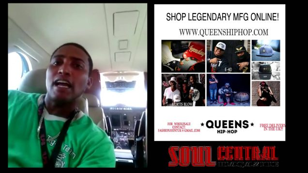 El Campa on our Private Jet in Panama Soul Central Panama TV @Soulcentralmag