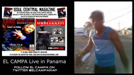 EL Campa – Shoutout for Soul central TV Panama @Elcamparap @Soulcentralmag