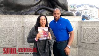 Mary Martin London & John Edwards Shouts Out Soul Central in Trafalgar Square #T2