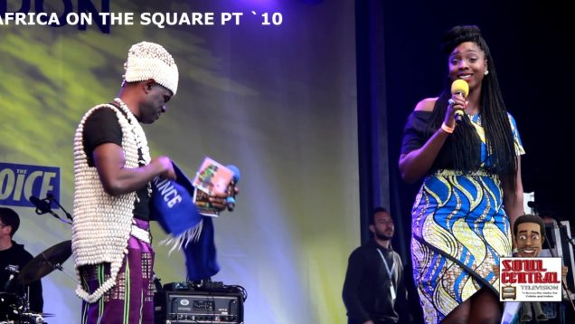 Africa on the Square Pt 10 #LIVE with Soul Central Magazine @Soulcentralmag
