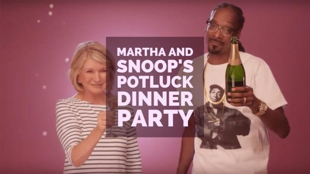 Martha And Snoops Potluck Dinner Party S01E01