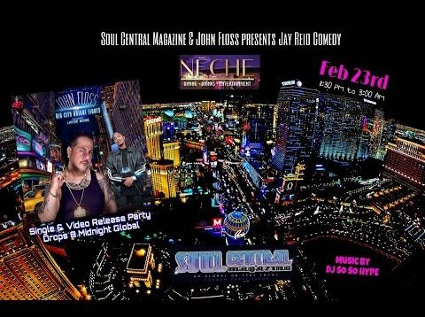 Neche Club 24th JOHN FLOSS  BIG CITY BRIGHT LIGHT ft LAYZIE BONE