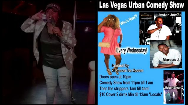 URBAN COMEDY JAM Las Vegas with Ms Diva at Lacys lounge