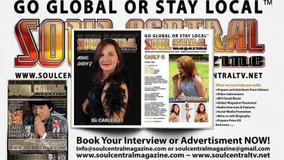 Would you Like More Global Exposure? Contact Soul Central Magazine @Soulcentralmag
