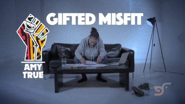 AMY TRUE – GIFTED MISFIT (OFFICIAL VIDEO PRODUCED BY CHEMO)