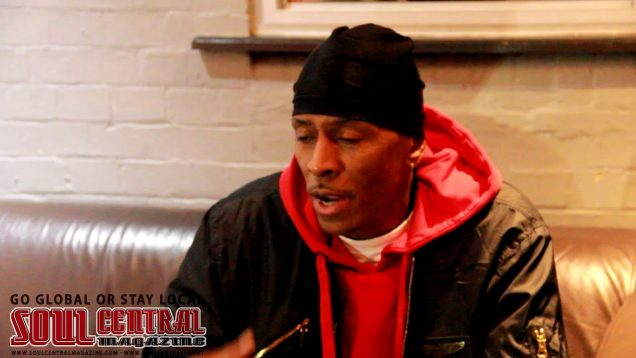 Mc Shan Interview in London with Soul Central Magazine @Soulcentralmag