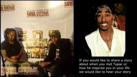TUPAC CHRONICLES #Pt6– Guest Caller: Kendrick Lesane Hosted by #Slash & Jibril Bey