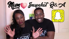 Mother's Day Special! | Snapchat Q&A With Mum!!