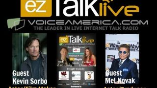 VOICE AMERICA KEVIN SORBO MEL NOVAK EZ TALK LIVE with Eric Zuley & Dante Sears