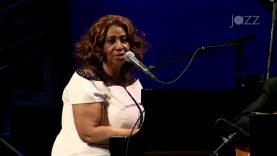 Aretha Franklin with Wynton Marsalis Jazz at Lincoln Center Orchestra 'Big Band Holidays' 2015