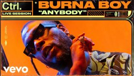 "Burna Boy – ""Anybody"" Live Session 